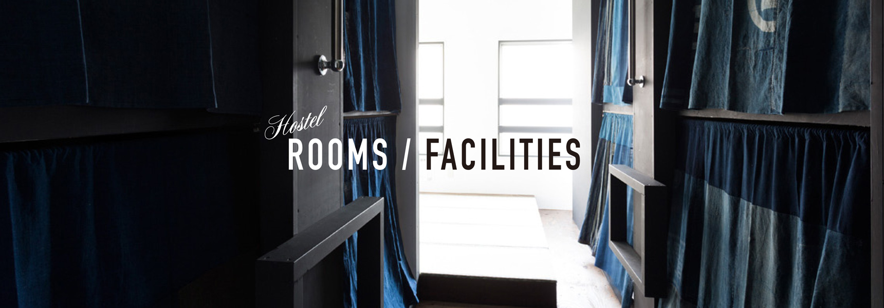 Rooms/Facility  宿泊案内